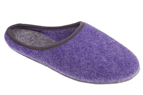 Gibra Pantofole per donna Viola (lilla)