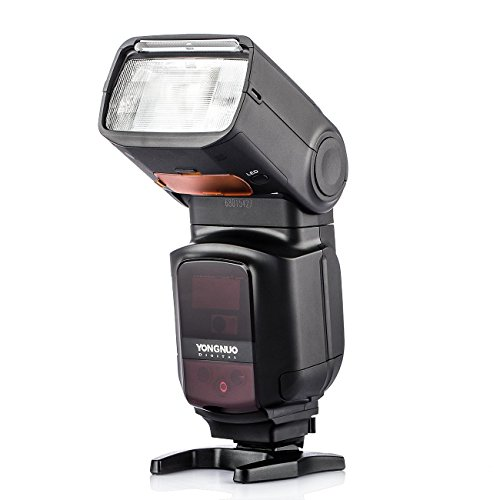 YONGNUO YN968EX-RT Flash Speedlite High-Speed   Sync TTL mit LED-Licht für Canon DSLR Kameras mit WINGONEER Diffusor (Yongnuo Flash)