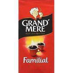 GRAND MERE Café Moulu Familial 250 g - Lot de 6