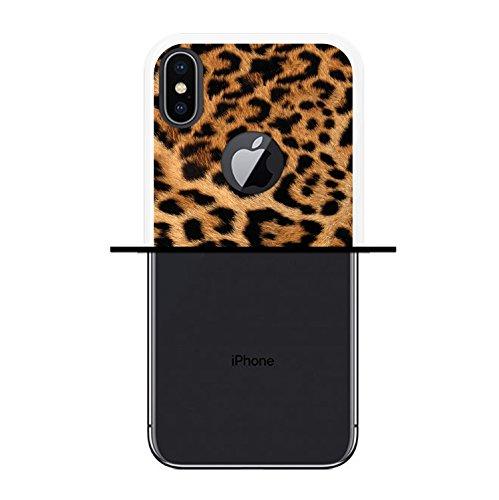 iPhone X Hülle, WoowCase Handyhülle Silikon für [ iPhone X ] Weißer und blauer Marmor Handytasche Handy Cover Case Schutzhülle Flexible TPU - Transparent Housse Gel iPhone X Transparent D0510