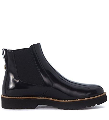 Beatles Hogan modello H259 in pelle spazzolata nera Nero