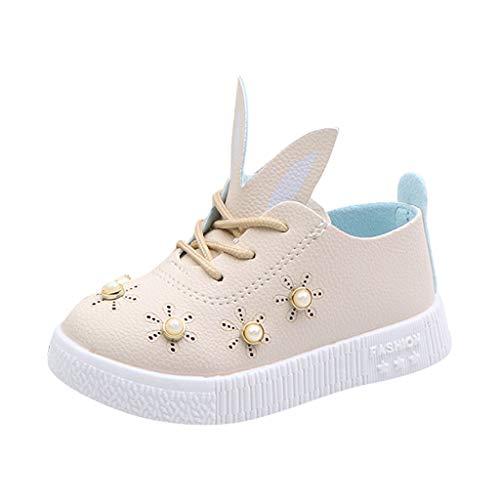 6ee73270fecab Moonuy Toddler Bébé Filles Chaussures De Dessin Animé Enfants Bébé Perles  Oreilles Sneaker Fille Doux Anti