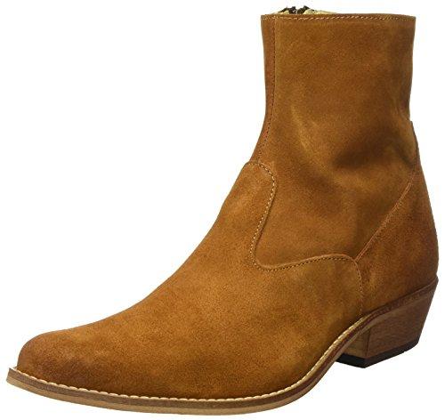 Shoe The Bear Herren Enzo S Cowboystiefel, Braun (130 Brown), 44 EU (Wildleder Cowboy-stiefel Herren)