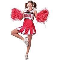 Guirca - Disfraz adulto de cheerleader (80597)