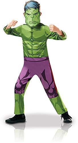 Rubie' s 640838s ufficiale marvel avengers hulk classic child costume-small età altezza 104cm, ragazzo, 3–4
