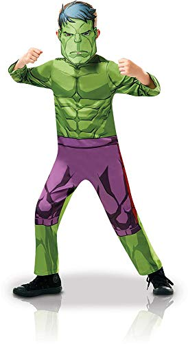 Rubie 's 640838M Offizielles Marvel Avengers Hulk Classic Kind costume-medium Alter Höhe 116cm, Jungen, 5-6