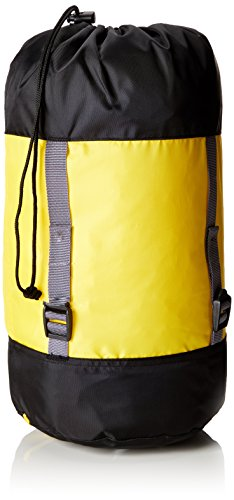 Salewa sb compression stuffsack s sacca di compressione per sacchi a pelo, unisex - adulto, giallo (yellow), taglia unica