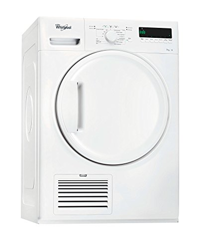 Whirlpool DELX70112 Autonome Charge avant 7kg B Blanc sèche-linge - Sèche-linge (Autonome, Charge avant, Condensation, Blanc,...