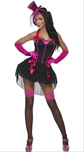 WARRT Halloween Kostüm Halloween Kleid Beängstigend Kostüme Für Frauen Geist Cosplay Kleid Böse Prinzessin Skelett Vampir des Kostüms Hexe l 7