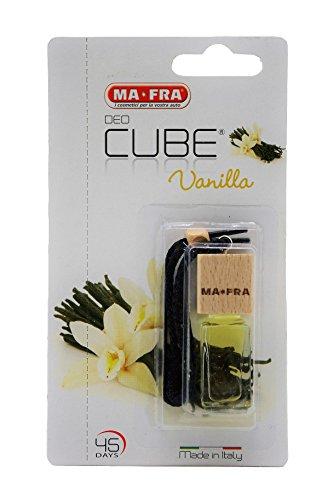 MAFRA Deodorante Liquido Cube Vanilla 5Ml Cura Pulizia E Lavaggio Auto
