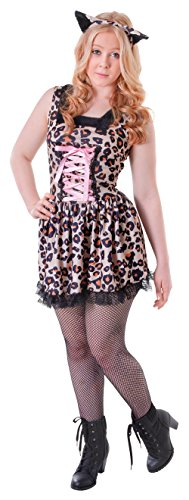 Bristol Novelty TC112 Leopard Kostüm, Damen, Mehrfarbig, S
