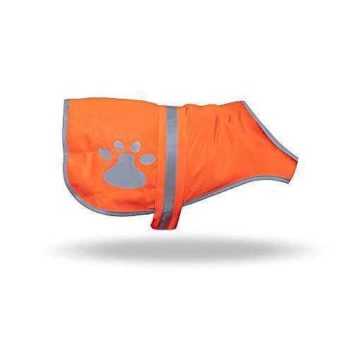 maggift Hund Warnweste, Haustier Sicherheit Weste Orange, L, Orange -