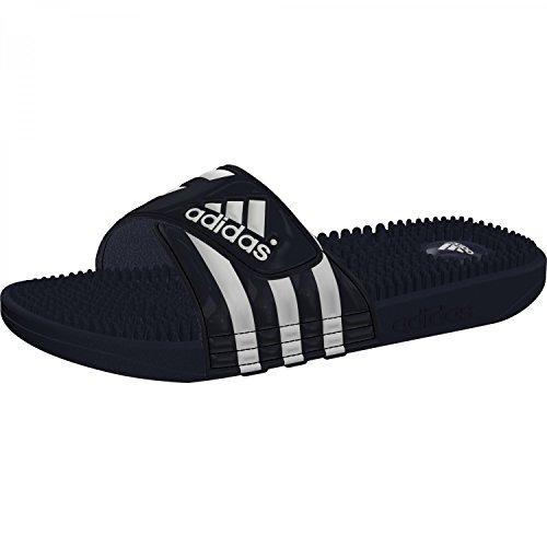 adidas Herren Adissage Badeschuhe Blau (N.Navy/Runwht N.Navy/N.Navy/Runwht)