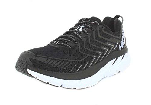 Hoka One One Clifton 4 Black White Noir