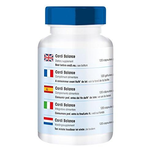 Cardi Balance, Multivitamin reich an Vitaminen, Mineralstoffen, Aminosäuren und Pflanzenextrakten, 120 Kapseln