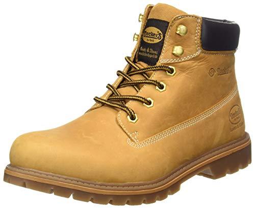 Dockers by Gerli Herren 35CA001 Combat Boots, Gelb (golden tan 910), 44 EU