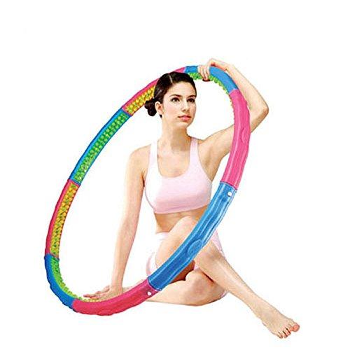 Vita Health Hoop (2,5 kg) Hula Hoop Reifen gewichtet mit Massagenoppen