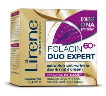 lirene - FOLACINE Duo EXPERT 60+ Extra Riche - Crème Raffermissante anti-rides (50 ml)