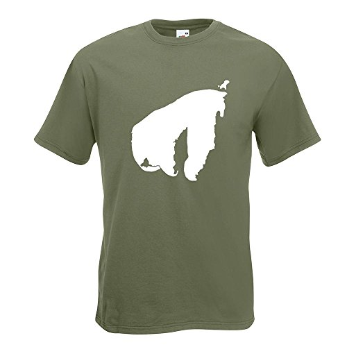 KIWISTAR - Poel - Deutschland - Insel T-Shirt in 15 verschiedenen Farben -  Herren