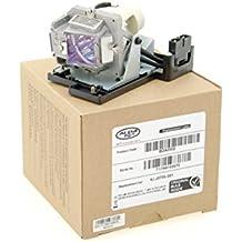 Alda PQ Original, Lámpara de proyector 5J.J0705.001 para BENQ MP670, W600, W600+, HP3325 Proyectores, lámpara de marca con PRO-G6s viviendas