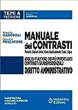 Manuale dei contrasti. Diritto amministrativo: Sezioni Unite , Corte Costituzionale, CEDU, CGUE