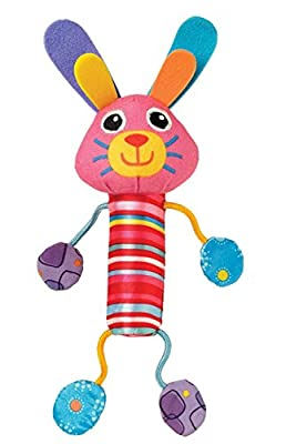 Lamaze Cheery Chimes Bunny Rattle Baby Toy