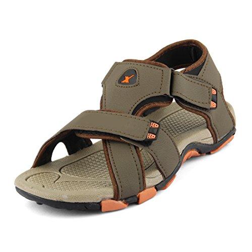 Density Men Brown Regular Synthetic Leather Sandals 10