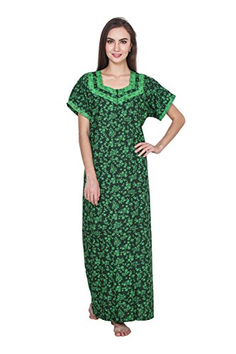 Klamotten Women Long Cotton Nightwear 244Gd20