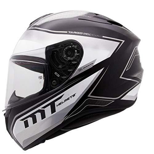 NJ Helm- Multi-Color und Multi-Size-Helm, Regen- und UV-Schutzhelm, transparente Linse (Color : Gray, Size : XXL)