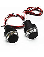 SAN Motorcycle Turn Signal LED Handle Bar Light for All Bikes -Set of 2
