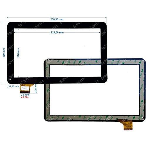 vetro tablet majestic Touch screen Majestic TAB 411 3G Vetro Digitizer 10