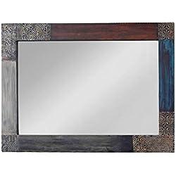 Goa 3539Espejo, madera, 3x 90x 60cm, multicolor