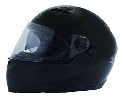 Preisvergleich Produktbild Astone Helmets - Minijet rétro - Casque jet rétro - Casque de moto vintage - Casque café racer- Casque en polycarbonate - gloss black XS