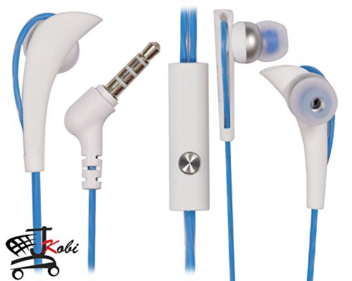 Jkobi Sports Series For Running / Gyming / Exercise 3.5mm Jack With Mic Headset Earphone Compatible For Micromax Joy F145 -Blue  available at amazon for Rs.449
