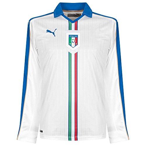 2015-2016 Italy Away Long Sleeve Puma Football Shirt