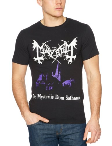Plastic Head Mayhem De Mysteriis Dom Sathanas Men's T-Shirt