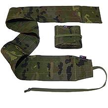 Par de muñequeras Strength Color Camuflaje Verde pixelado para Crossfit, Gym, Fitness, Halterofilia