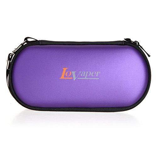 LoVaper Ego Bag for Ecig Batteries Vape Liquid Vape Pen No Nicotine (Purple Only)