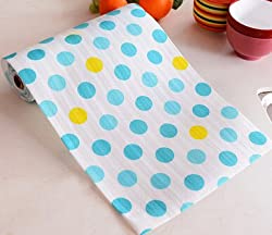 Generic Waterproof table Floral Pattern drawer wardrobe mat Non-Slip Placemat for kitchen accessories decoration home 500X30CM /300X30CM 200X30CM
