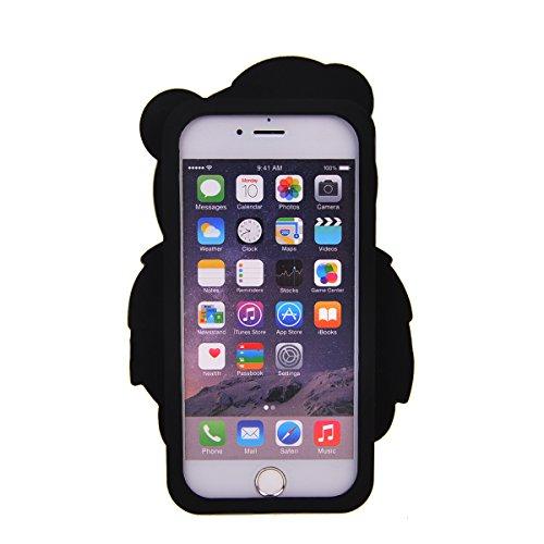 iPhone 6 Plus/ 6s Plus Coque,COOLKE Mode 3D Style Cartoon Gel Soft silicone Coque Housse étui Case Cover Pour Apple iPhone 6 Plus/ 6s Plus (5.5 inches) - 003 003