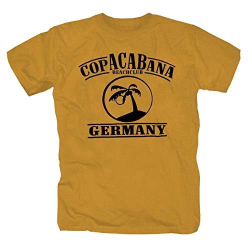 Copacabana - T-Shirt -Ocker- (M)