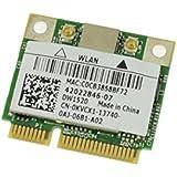 KVCX1 - Dell Wireless 1520 Draft N Wireless WiFi 802.11 a/b/g/n Half-Height Mini-PCI Express Card - KVCX1