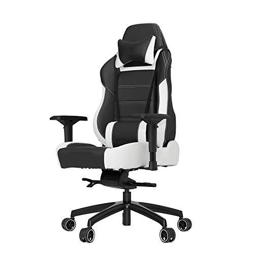 Vertagear PL6000 Seduta Rigida Schienale Rigido Sedia da Ufficio e Computer, finta_pelle, rotelle