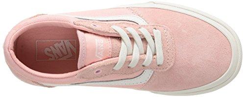 Vans - Z Milton, Sneaker Bambina Rosa (Canvas/Suede/English Rose)