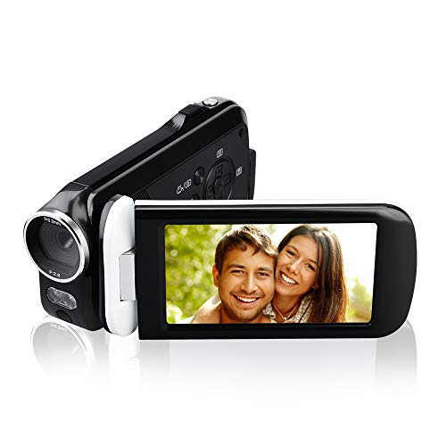 Videokamera Camcorder, JmeGe 24MP HD 1080P Digital Videokamera 3.0\'\'\' HD Touch Screen Digitalkamera Recorder