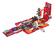 Motormax Take Along Fire Station Play Set Carry Case