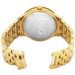 D&G Dolce&Gabbana Women's Quartz Watch DW0377 with Leather Strap
