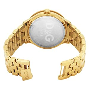 Dolce & Gabbana Time Big IPG Gold DIAL with Red Logo BRC DW0377 –