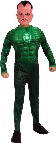 Lantern Kostüm Sinestro Green - GREEN LANTERN SINESTRO CHLD LG