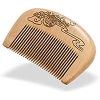 Aszhdfihas leicht zu Tragen Holz Haar/Bart Kamm für Frauen Männer - Fine Tooth, Anti-Static Antistatische Entwirrung preisvergleich bei billige-tabletten.eu